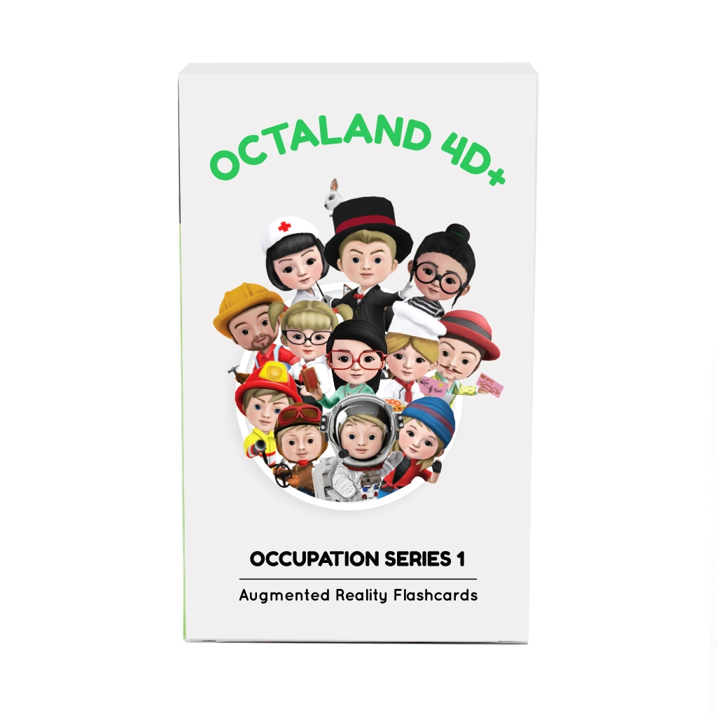 Octaland 4D Flashcards front